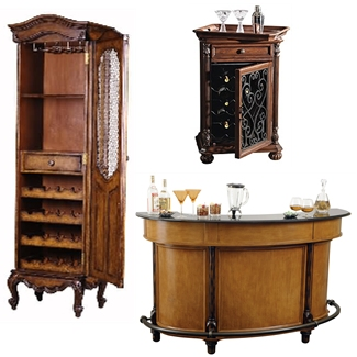 Unique Home Bars Wine Cabinets