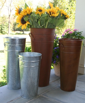 French Buckets - Florist Flowers
