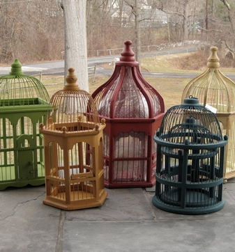 Decorative Wooden Birdcages