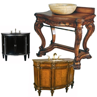 Large Sink Chests Furniture Style Bathroom Vanities
