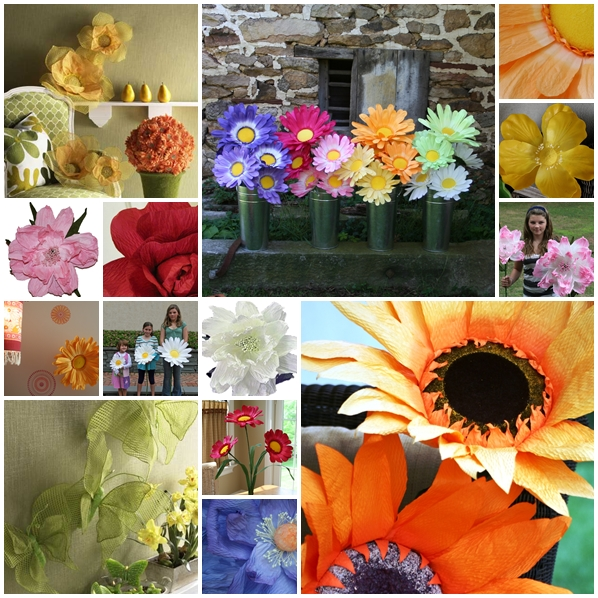 Large paper flower decorations buy giant paper flowers party large flower party decorations giant paper flowers mightylinksfo